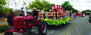 Lake Mead Christian Academy - tractor ride